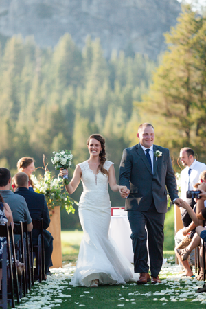 Tahoe Wedding On Golf Course